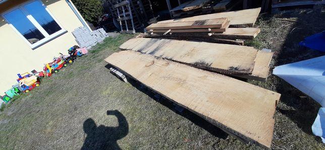 Tarcica deska dąb 250x50x5 monolit