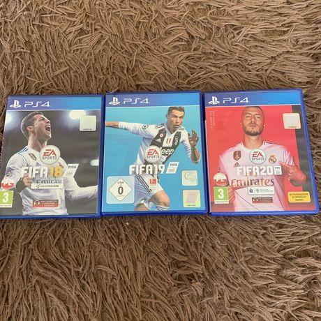 FIFA 18,19,20 на ps4