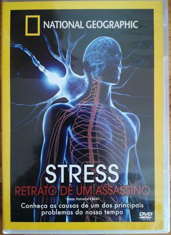 """DVD """"Stress - Retrato de um Assassino"""" National Geographic"""