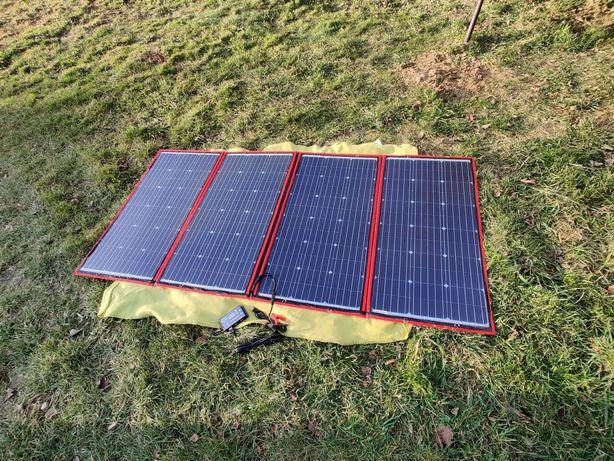 Dokio Panel słoneczny fotowoltaiczne 200W 12V przenośny kontroler USB