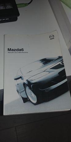 Instrukcja obsługi Mazda 6 w języku włoskim