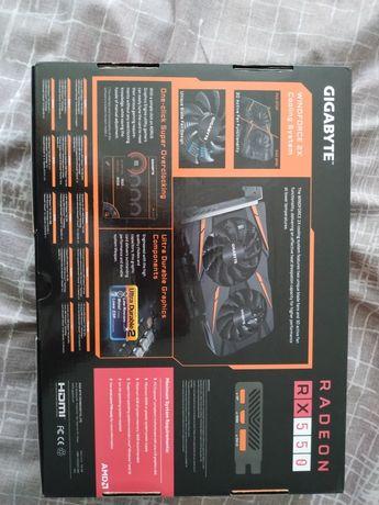Видеокарта rx550