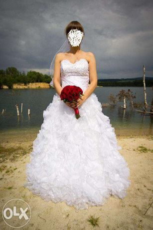 Suknia ślubna, możliwość przeróbki, biała