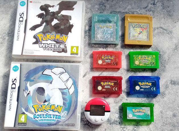 Jogos Pokémon Gameboy Advance, Color e Nintendo DS