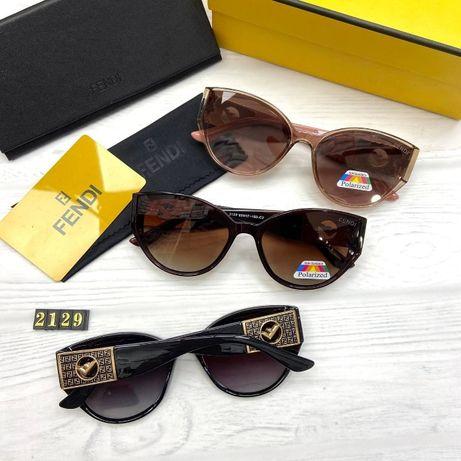 Солнцезащитные очки женские Фенди с поляризацией хит 2021
