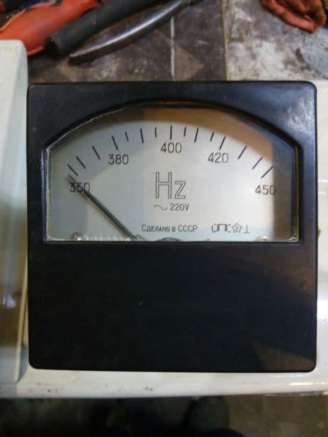 частотометр 350-450 Hz 220 V