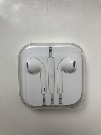 Słuchawki Apple nowe 3,5 mm