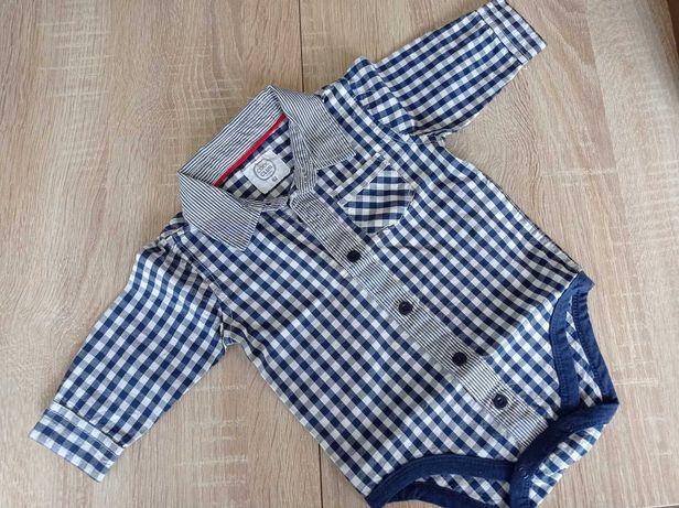 Koszula niemowlęca body Cool Club r.62