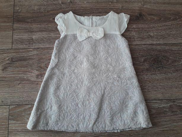 PIĘKNE 2 Sukienki rozm 80 komplet