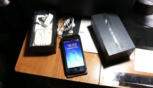 APPLE IPhone 5 Czarny