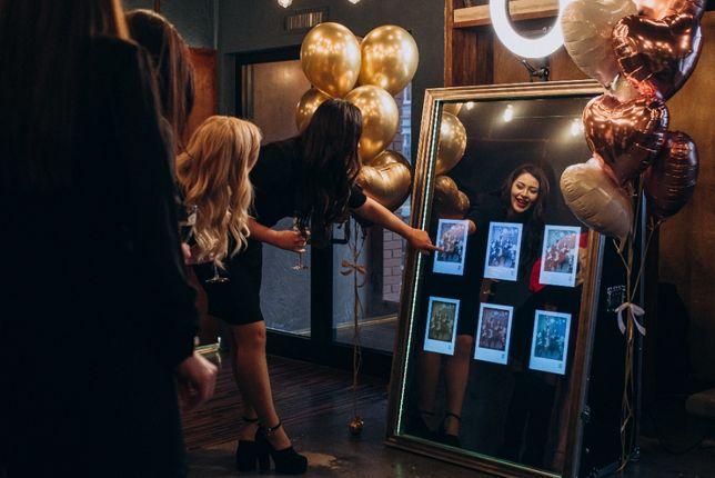 Селфі дзеркало 70' эвент бизнес / фотобудка / Селфи зеркало + сайт