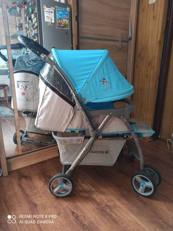 Wózek spacerowy Quatro