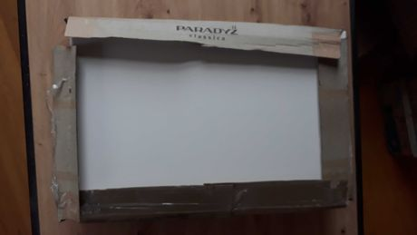 Płytki ścienne Glazura Melby Bianco Kwadrato 25 x 40 cm
