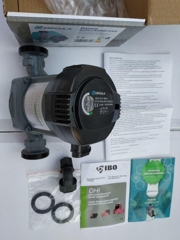 Pompa elektroniczna C.O. Circula IBO Helio 25/40-180 Ostrowiec Św. CO Ostrowiec Świętokrzyski - image 1