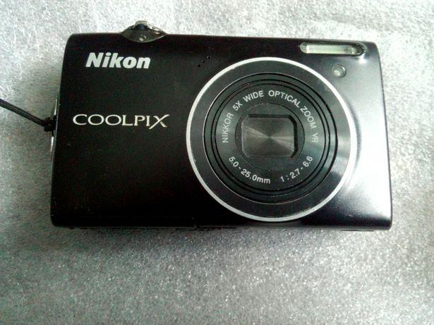 Цифровий фотоапарат Nikon Coolpix S5100 Black
