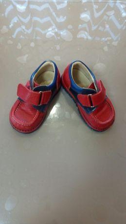Туфли, ботинки, для маленьких, 21р. Кожа