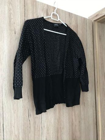Czarny sweterek bolerko Promiss L