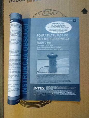 pompa filtrująca do basenu ogrodowego INTEX