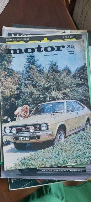 Motor egzemplarz kolekcjonerski 1976