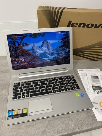 """Laptop Lenovo z50-70 biały 15,6"""", Intel i5 1TB, 8GB RAM GF840 notebook"""