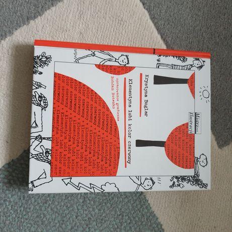 Książka Krystyny Boglar Klementyna lubi kolor czerwony