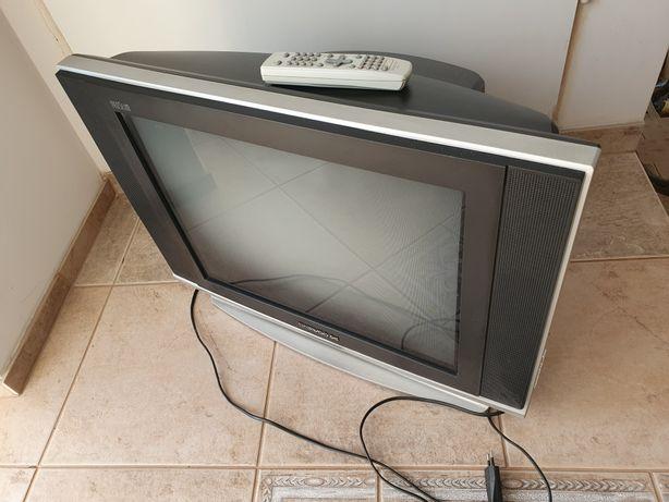 """Telewizor szary czarny 21"""" cali Daevoo sprawny do dekodera dvb-t2"""