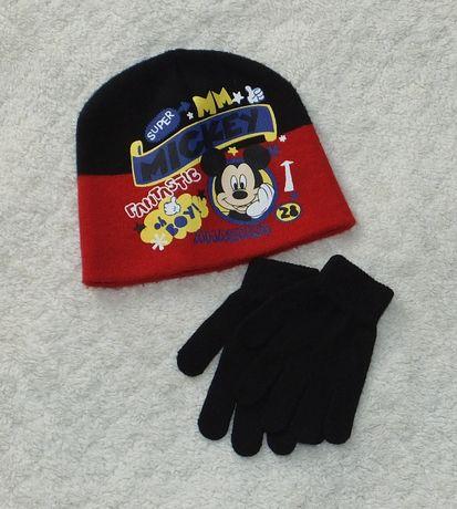 Czapka zimowa rozmiar 54 + rękawiczki