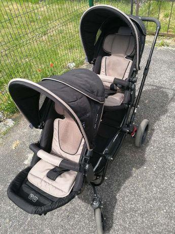 ABC DESIGN ZOOM - Dziecięcy wózek bliźniaczy