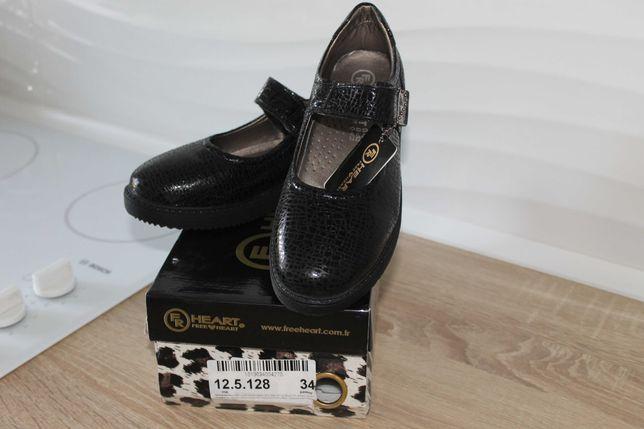 Туфли кожаные р.34 Турция