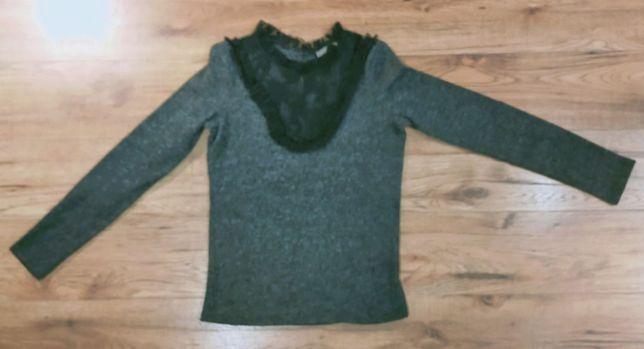 OKAZJA orsay sweter cieply elegancki z koronka