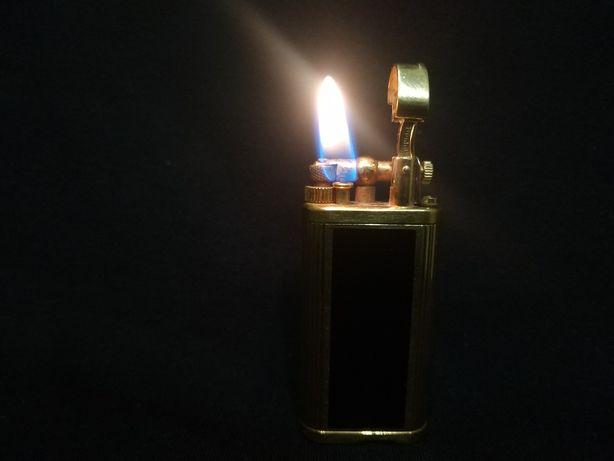 Газова запальничка Original Dunhill Unique Lighter Spares Gold Plated