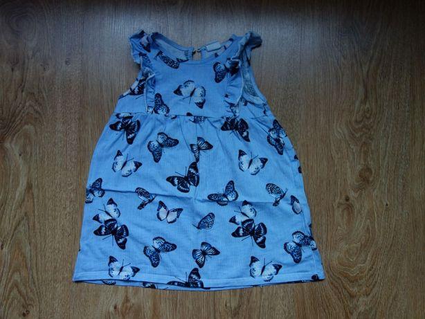 Sukienka h&M rozmiar 86