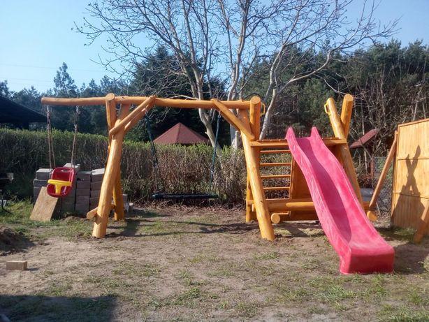 Meble ogrodowe Plac zabaw Huśtawka Stół ogrodowy Zjeżdzalnia Ławka