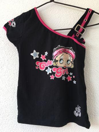 T-shirt Original Betty Boop 12 anos
