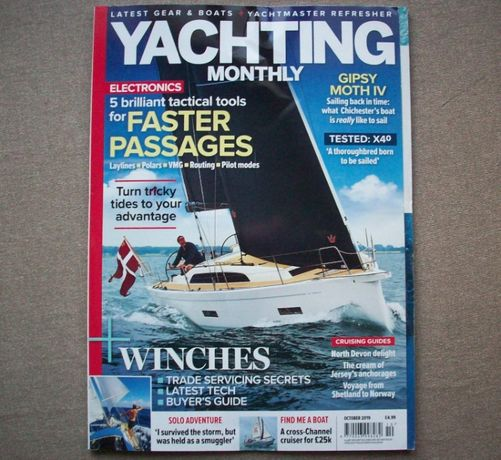 Yachting Monthly, October 2019.