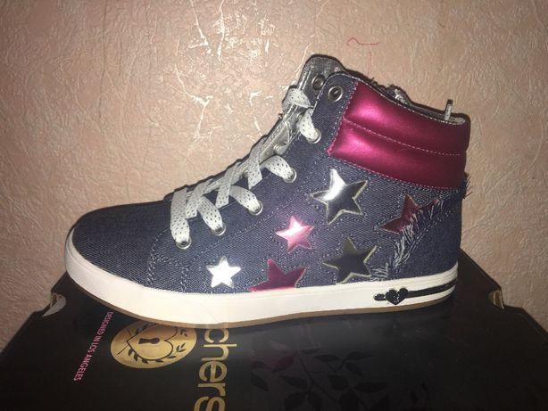 Новые детские кеды, ботинки Skechers.