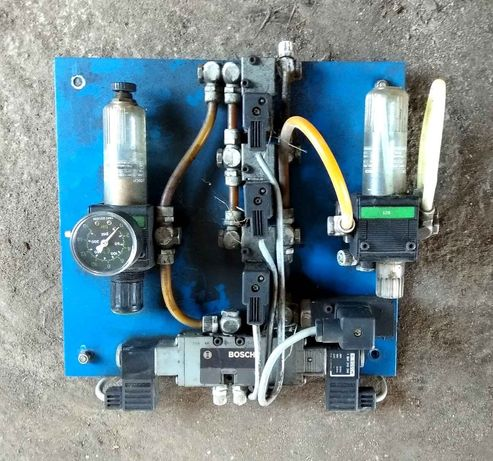 Elektroztawór Presostat Reduktor ciśnienia CNC Bosch