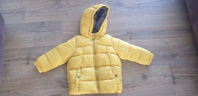 Sprzedam kurtkę zimową dla chłopca Zara r. 98