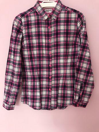 Koszula flanelowa w kratkę