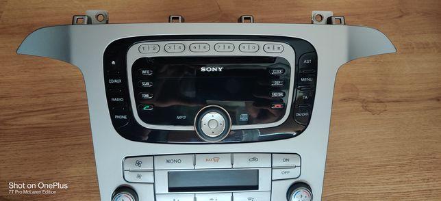 Radio Sony Smax galaxy mondeo