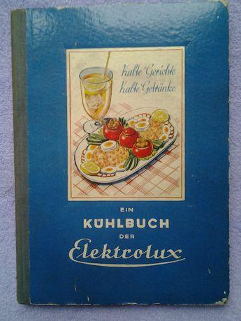 niemiecka książka kucharska Elektrolux oryginał