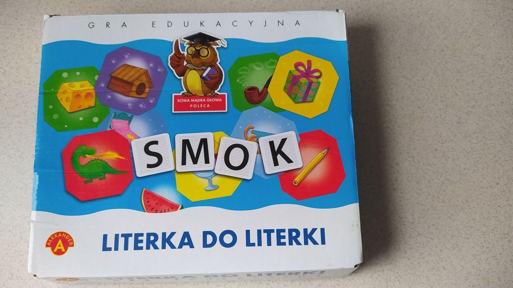 """Gra edukacyjna """"literka do literki."""" Nowy Staw - image 1"""