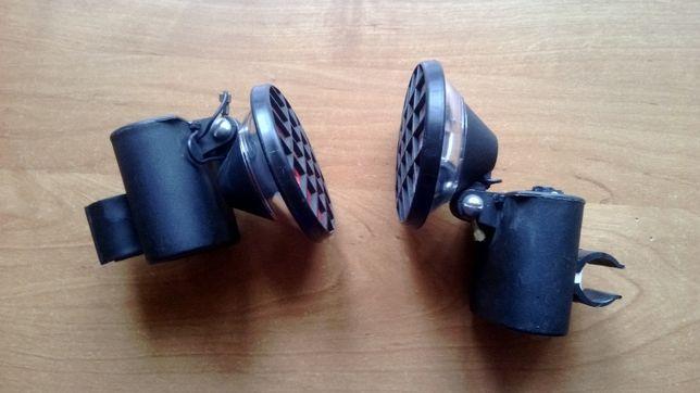 Lampki rowerowe bateryjne komplet PRL Romet składak Wigry Zenit Kalina