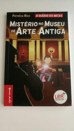 Livro O Diário do Micas Mistério no Museu de Arte Antiga
