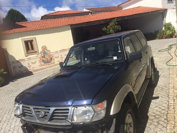 Nissan patrol gr 3.0 di PARA VENDER INTEIRO