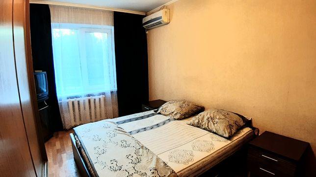 2х комнатная квартира посуточно, почасово