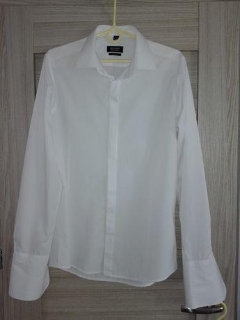 Białe koszule RECMAN rozm 40