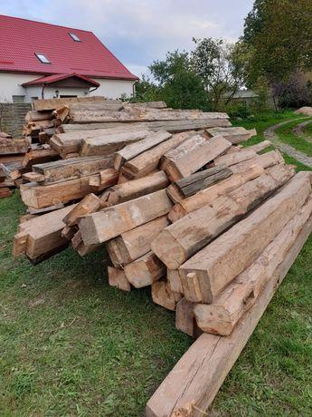 Drewno konstrukcyjne z rozbiórki