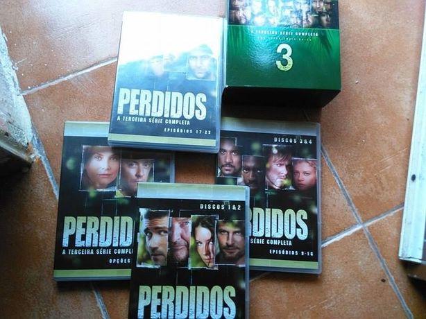 Séries de DVD's originais The Lost - Os perdidos