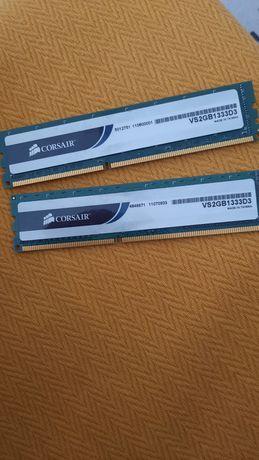 Memória RAM DDR3 CORSAIR VS2GB1333D3 (2 x 2 GB - 1333 MHz - CL 9